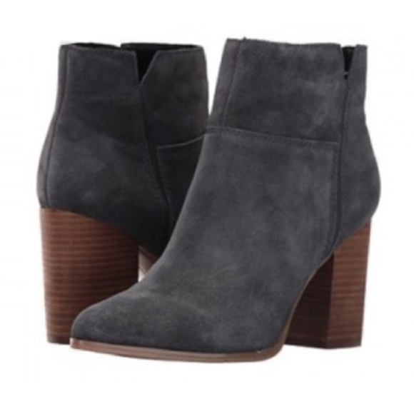 Nine West Shoes - Nine West Kirby Dusty Navy Blue Bootie